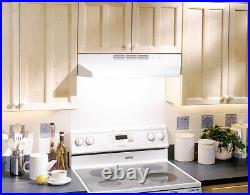 Broan 4136 36W Steel Non Ducted Under Cabinet Range Hood Stainless Steel