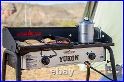 Camp Chef Yukon 2 Gas Burner Stove Outdoor Camping Family Picnic BBQ Birthday,