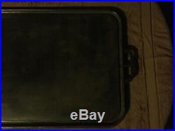 Cast Iron Griddle U. S. The Estate Stove Co. 1942 Wwii Era 31-1/2 X 19-1/2
