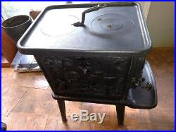 Cawley/LeMay Wood Burning Stove Model 400 and Manual Excellent Condition