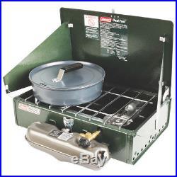 Coleman 3000003648 14000-Btu Dual-Fuel Band-A-Blu Guide Series 424 Stove