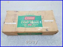 Coleman 426 Camping Stove 3 Burner Green Campstove 426NL Vintage
