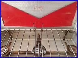 Coleman 443 Stove 3 Burner Aluminum Vintage 1963 Diamond Logo Tested Working