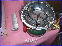 Coleman 502 Camp Stove Kit, 10/63 Single Burner with Case/Handle NICE