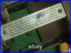 Coleman 520 US Military Stove 1945 with wrench SEE ALL PICS