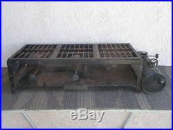 Coleman 975a Instant Gas 3 Burner Stove Antique Vintage Camp 1930's Outdoor Cook