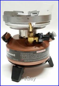 Coleman Exponent Multi-Fuel Stove NIB Model 550B725