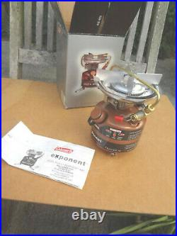 Coleman Feather 442 Exponent Dual Fuel Stove Brand New