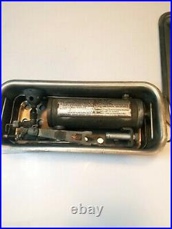Coleman Mod 527 WW2 Era Dental Sanitizing Stove Stainless Steel Case US Pioneer