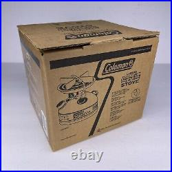 Coleman Model 533, Dual Fuel Single Burner Compact Stove With Funnel