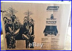 Coleman Select e Fuel 2 burner Corn Stove New Extremely Rare