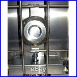 Cook Partner 2-burner 22 Propane Stove with Wind Screen NFB