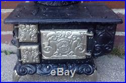 Cook Stove Fancy Wood Coal Child Size Cast Iron