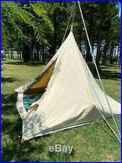 Cowboy Teepee Tent, Canvas, 10x10, Colorado Tent Co, Range Tent, Vinal Floor