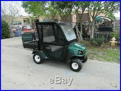 Cushman Hauler 800 Golf Range Golf Ball Picker Dump Body Gas Golf Cart