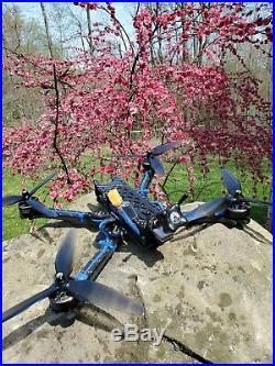 Custom 7 FPV Long Range GPS Drone Quad Complete Setup