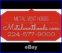 Custom Range Hood, Cooker Hood, Zinc Range Hood Model #408