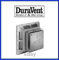 DURAVENT 4 x 6 5/8 DirectVent Pro Horizontal Square Termination Cap #46DVA-HC