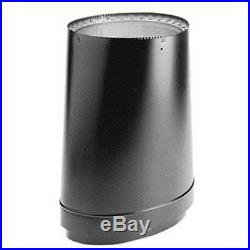 DVL Double-Wall Stove Pipe Oval To Round Adapter Available In 6 & 8