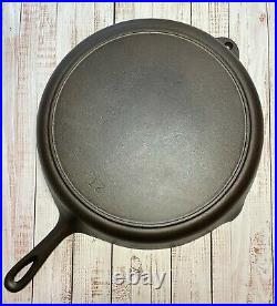 Early BSR Birmingham Stove Range #12 Cast Iron Skillet Cleaned and RESTORED