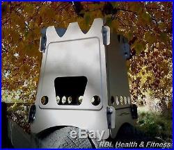 EmberLit UL UltraLight TITANIUM Camp Survival Stove with Storage Sleeve