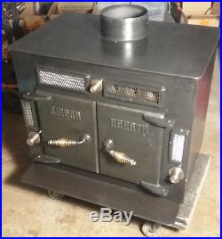 Ember Hearth iron Stove Wood burning farm house/shop Heater New never fired