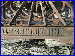 Eriez Cast Iron Cook Stove 2 Burner Collectible #82 Rare not a Griswold
