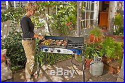Expedition 3X Triple Burner Stove withgriddle