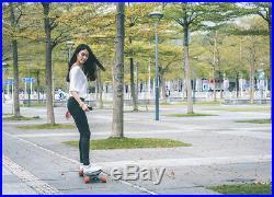 Exway X1 Dual Hub Motor Electric Skateboard 25 MPH Hill Grade 30% 10 Miles Range