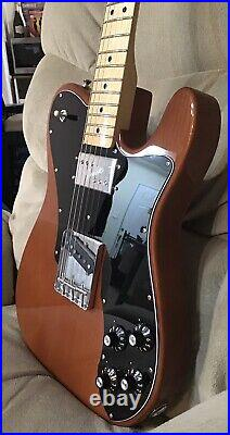 Fender American Original 70s Telecaster Custom Guitar Mocha CuNiFe Wide Range