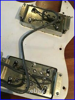Fender Telecaster 72 RI Thinline With Wide Range Humbuckers