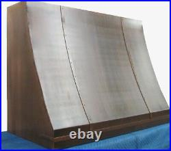 French Country Handcrafted Copper Range Hood Custom Made in USA Top Quality