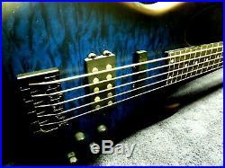 Fretless 5 Basscarvin Customextended-rangeebonyneck-thruactive-eqfantastic