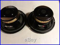 Full Range 8 Co Ax Speakers Hemp Fiber Cones Rubber Surround 2 Way Hempopotamus