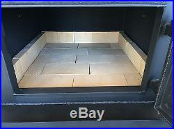GOLD MARC Wood Burning FIREPLACE INSERT Stove Burner Fire Place WOW