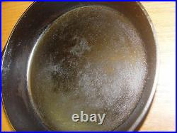 GRISWOLD 7 Cast Iron Skillet Antique Frying Pan Small Logo Farm Kitchen Stove