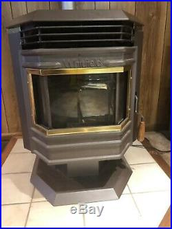 Gently used Whitfield Pellet stove fireplace Excellent Condition