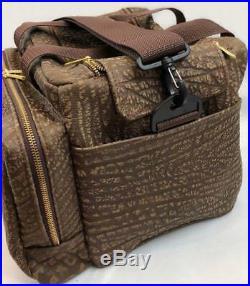 Genuine CAPE BUFFALO HIDE Safari Hunting Shooting RANGE BAG -NEW BROWN