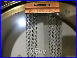Gretsch Full Range Silver Series 5 x 13 Hammered Brass Snare Drum