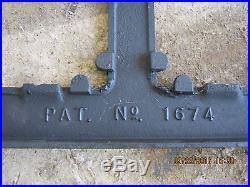 Griswold #704 4 Burner Cast Iron Stove