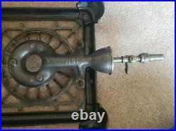 Griswold Early Single Burner Cast Iron Stove #501 Fully Restored