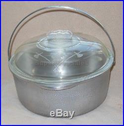 Guardian Ware Kettle Dutch Oven Stock 5Qt Pot Stove Top Pan 11 Glass Lid 241X