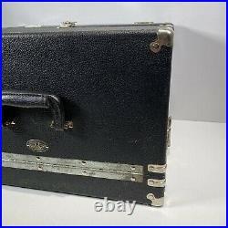 Gun Ho Case Bullseye 5 Pistol Range Box Vintage 18 X 14 X 11.5