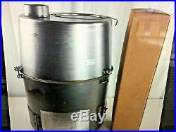 H-45 Heater, Multi-fuel Tent Stove/heater, Military Complete New In A Box