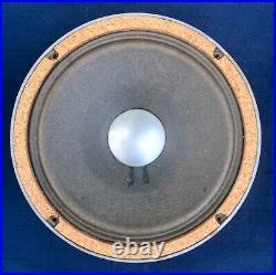 JBL D208 Full-Range 8 Speaker with Alnico Magnet Early Side Decal Label, 8-Ohms