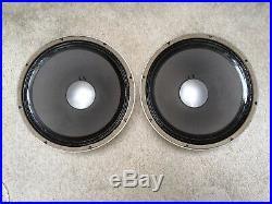 JBL James B. Lansing Model 2135 15-inch Full / Extended Range Speakers