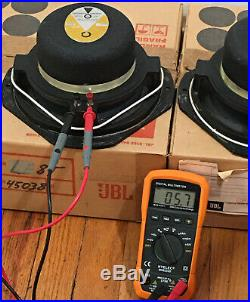 JBL LE8T-H 8 Full Range Speakers Pair