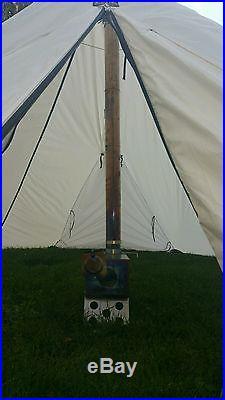 Kifaru 4 Man Tipi With Titanium Goat Vortex Ti Stove Ul Hunting Tent