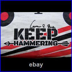 Keep Hammering Outdoor Range Bag Archery Target