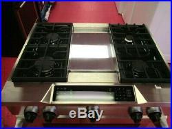 KitchenAid KDRS463VSS 36 Dual Fuel Convection Range (Stainless Steel)